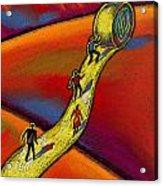 Path Acrylic Print by Leon Zernitsky