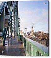 Path On Tyne Bridge Acrylic Print