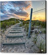 Path Over The Dunes Acrylic Print