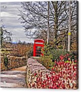 Path Through The Cotswolds Acrylic Print