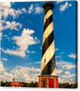 Path To Cape Hatteras Light Acrylic Print