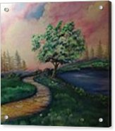 Path To Glory Panel 1 Acrylic Print by Kendra Sorum