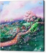 Path To Glory Panel 3 Acrylic Print by Kendra Sorum