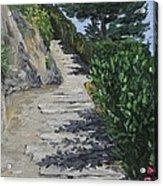 Path To L'eremo Sul Mare Acrylic Print