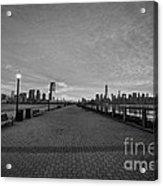 Path To Manhattan Acrylic Print