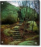 Path To Munchkinville Acrylic Print by Marcia Lee Jones