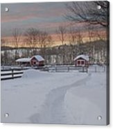 Path To The Barn Acrylic Print
