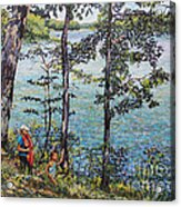 Path To The Lake Acrylic Print