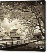 Path To The Old Barn Acrylic Print