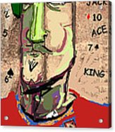Pathological Gambling Acrylic Print