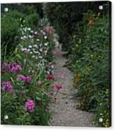Pathway Of Monet's Garden Acrylic Print