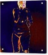 Patient Woman Acrylic Print