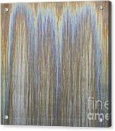 Patina On Cor-ten Steel Acrylic Print
