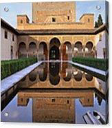Patio De Los Arrayanes La Alhambra Acrylic Print