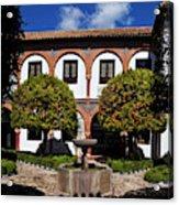 Patio Del Museo Cordobes De Bellas Acrylic Print