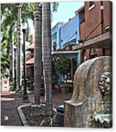 Patio Deleon Fort Myers Acrylic Print