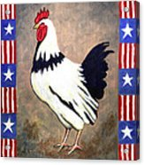 Patrick Patriotic Acrylic Print