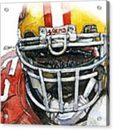 Patrick Willis - Force Acrylic Print