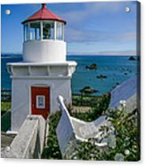 Patrick's Point Lighthouse Acrylic Print by Jim DeLillo