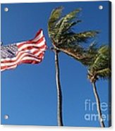 Patriot Keys Acrylic Print by Carey Chen