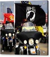 Patriot Riders Acrylic Print