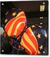 Patriotic Balloons Veteran's Day Casa Grande Arizona 2004 Acrylic Print