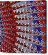 Patriotic Bandana Acrylic Print