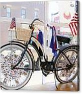Patriotic Bicycle Acrylic Print