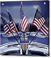 Patriotic Car Acrylic Print
