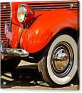 Patriotic Car Acrylic Print