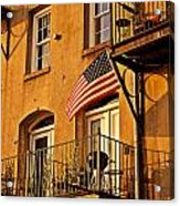 Patriotic Acrylic Print by Southern Photo