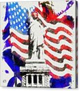 Patriotic Symbolism Acrylic Print