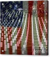Patriotism Acrylic Print
