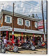 Pat's King Of Steaks Acrylic Print by Diane Diederich