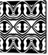 Pattern Black White Geometric Art No.188. Acrylic Print