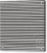 Pattern - Corrugated Metal Acrylic Print