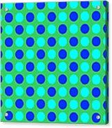 Pattern Of Circles Acrylic Print