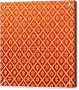 Pattern Of Cloth Acrylic Print