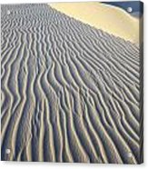 Patterns In The Sand Brazil Acrylic Print