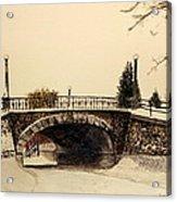 Patterson Creek Bridge Acrylic Print