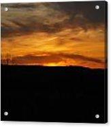 Patterson Sunset Acrylic Print