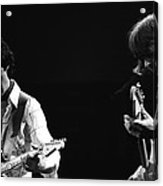 Paul And Mick Are Bad Company Acrylic Print