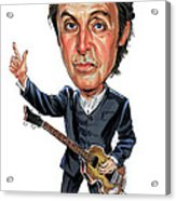 Paul Mccartney Acrylic Print by Art
