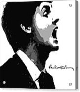 Paul Mccartney No.01 Acrylic Print by Caio Caldas