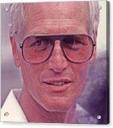 Paul Newman 1925 - 2008 Acrylic Print