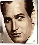 Paul Newman Artwork 1 Acrylic Print