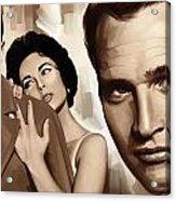 Paul Newman Artwork 2 Acrylic Print