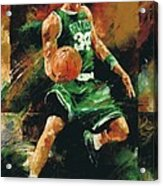 Paul Pierce Acrylic Print by Christiaan Bekker
