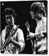 Paul And Mick In Spokane 1977 Acrylic Print