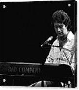 Paul At The Keyboard In Spokane 1977 Acrylic Print